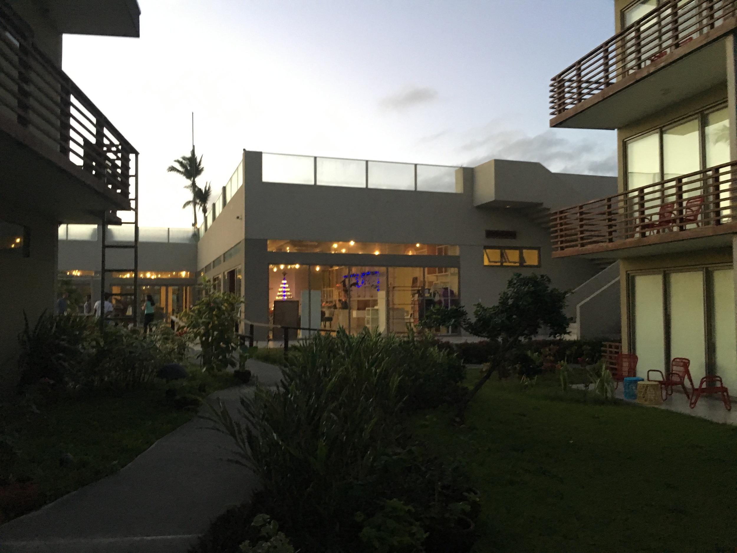 illumelation.com   Exterior at Sunset. Costa Pacifica Resort, Baler. Review.