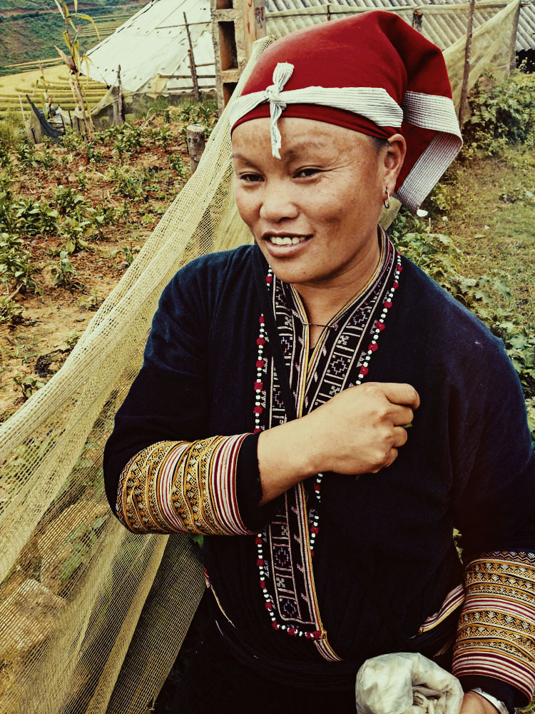 Pham of the Red Dao Hilltribe, cousin of May Kieu | Sapa, Vietnam | illumelation.com