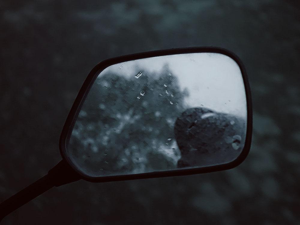 Motorbike mirror, Sapa.