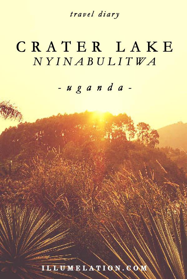 Nyinabulitwa Crater Lake in Uganda - illumelation.com