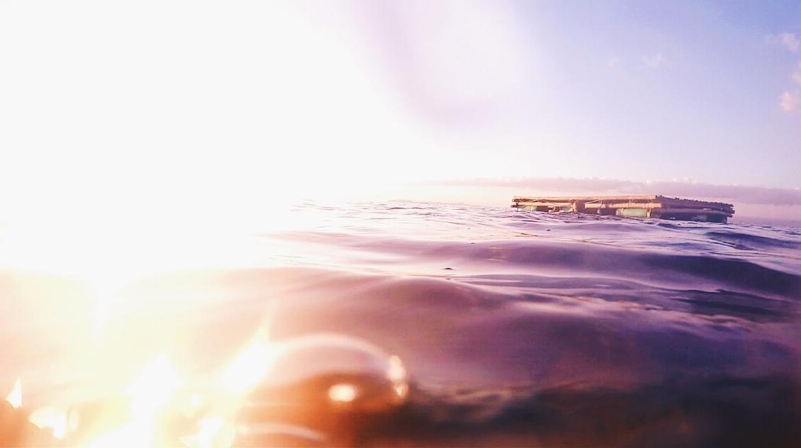 相思度假村和潜水中心,美丽的海洋日落,马比尼,阿尼劳,八打加斯,菲律宾
