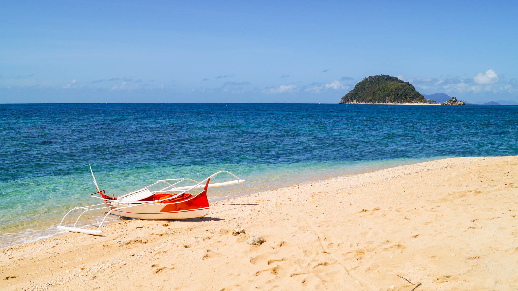 Philippines, Islas De Gigantes - Bantigue Sandbar Island - illumelation