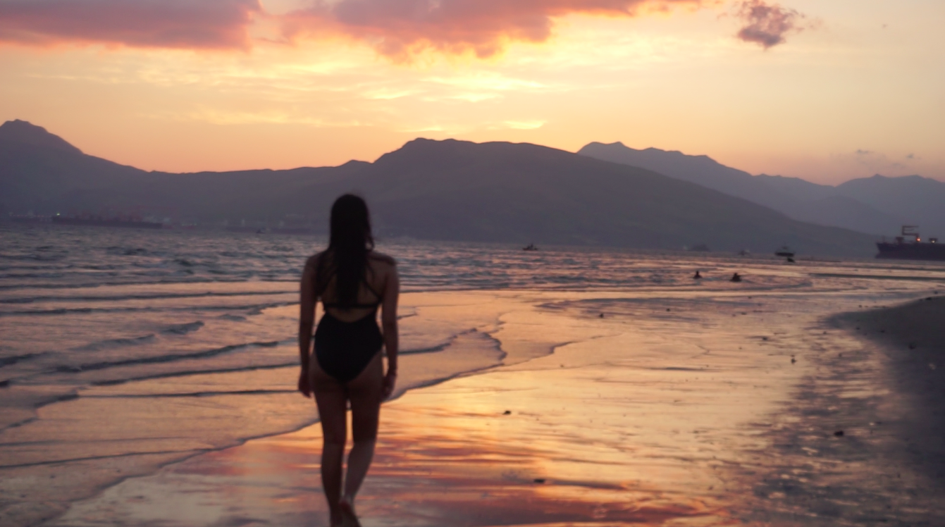 Melissa - illumelation - Zambales, Subic Beach Sunset Silhouette
