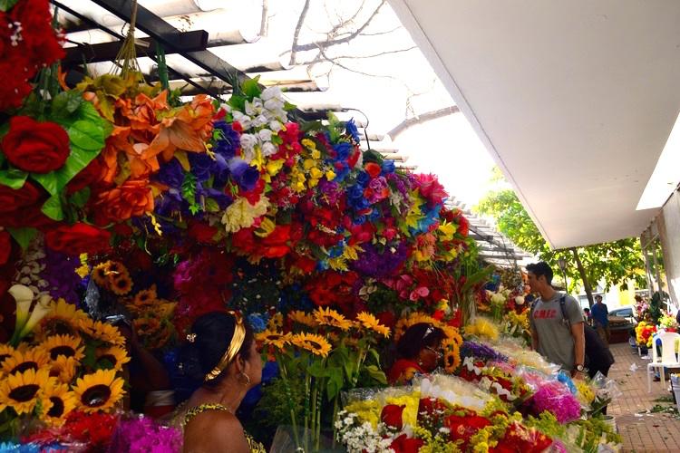 鲜花市场-哥伦比亚,卡塔赫纳