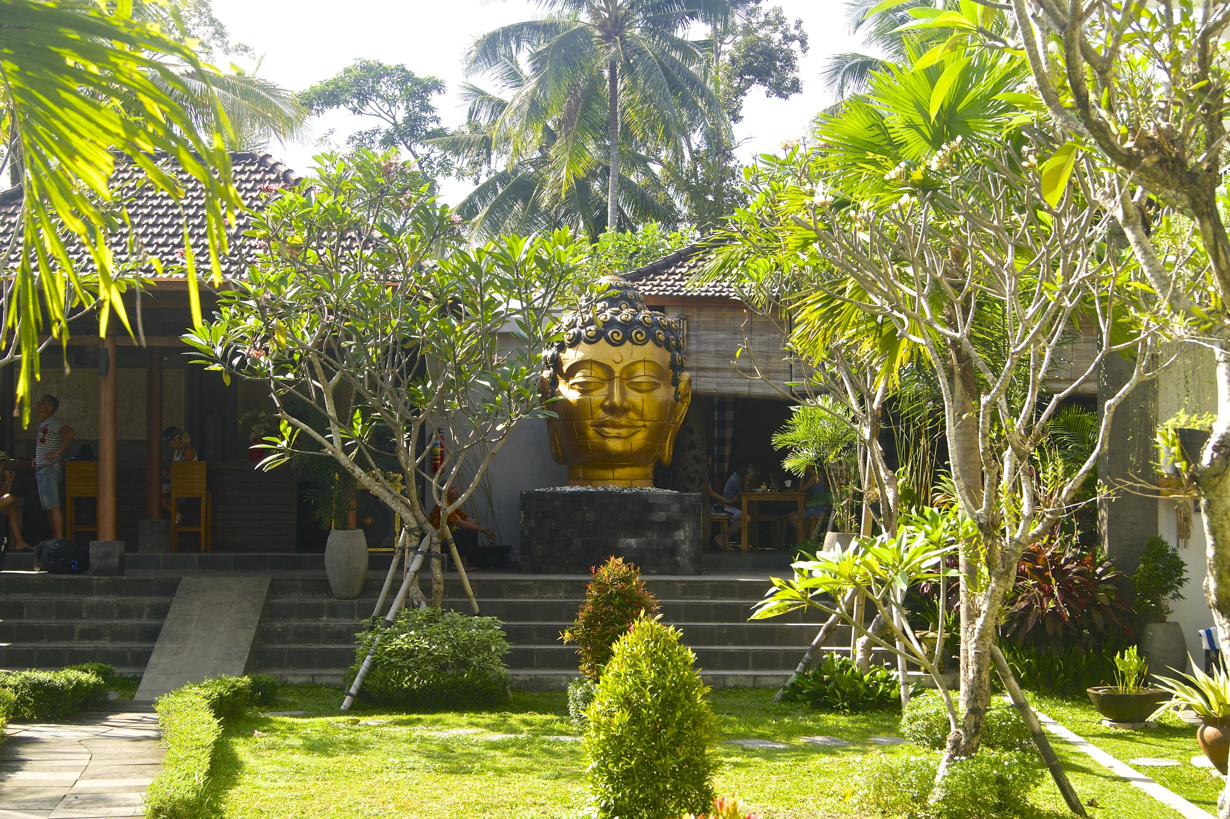 Ubud Raya Hotel - Swimming Pool and Garden - Ubud, Bali - Hotel Review - illumelation.com