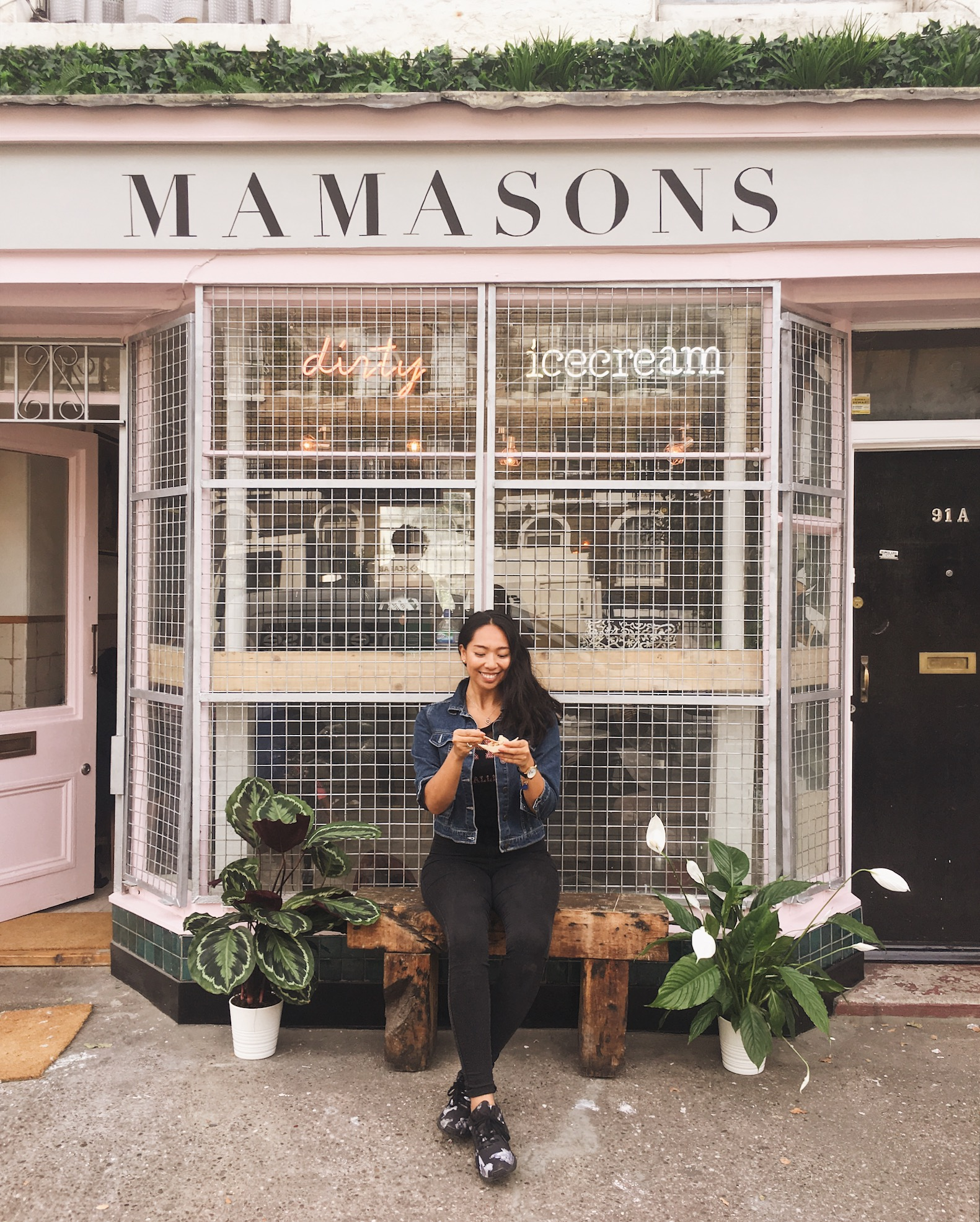 Mamasons Filipino Dirty Ice Cream in Camden/Kentish Town, London -   illumelation  .  com