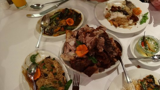 Pancit and lechon at Josephine's Filipino Restaurant - Credit to   TripAdvisor  .  com   contributor