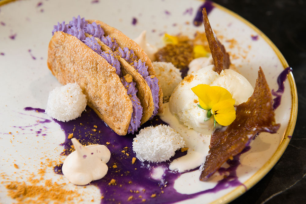 Traditional dessert flavours at Romulo Cafe, London - Credit to Romulo Cafe