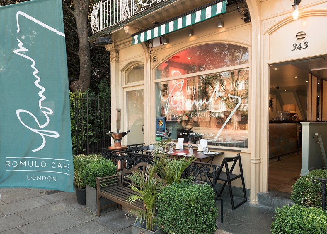 Romulo Cafe London - Kensington - Credit to   www  .  tripadvisor  .  co  .  uk