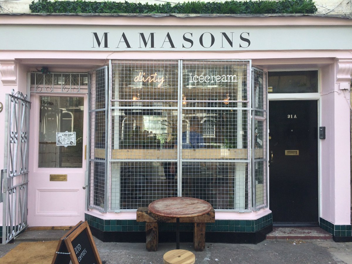 Mamasons Filipino Dirty Ice Cream Parlour - Camden, London - Credit to @Mamasons
