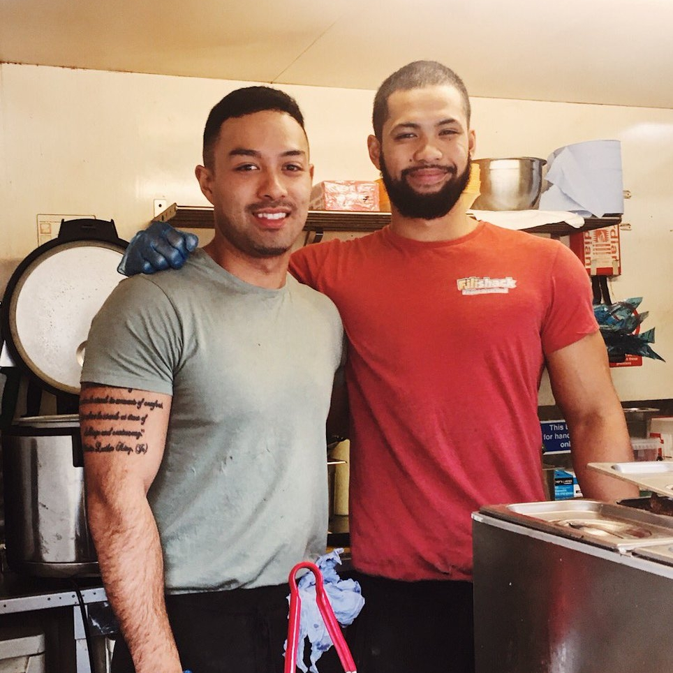 Jonathan & Justice Cacho - Owners of FiliShack Filipino Street Food Stall - Peckham, London -   illumelation  .  com