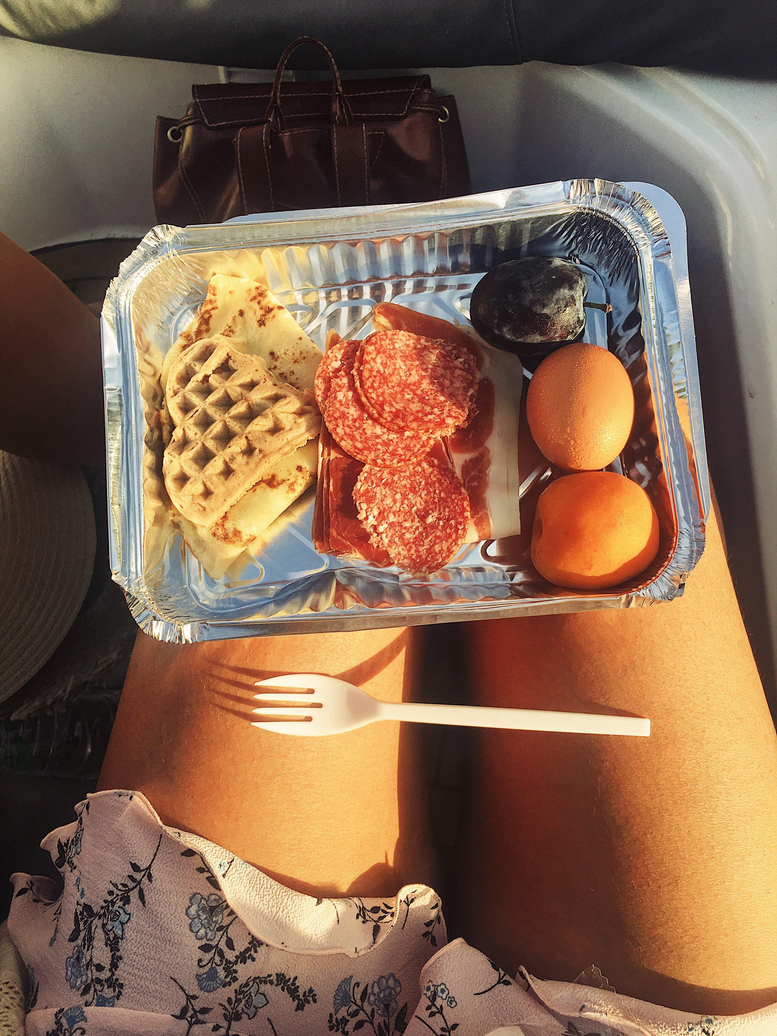 The Admiral Zaton - Takeaway Breakfast before Krka - Sibenik, Croatia - illumelation