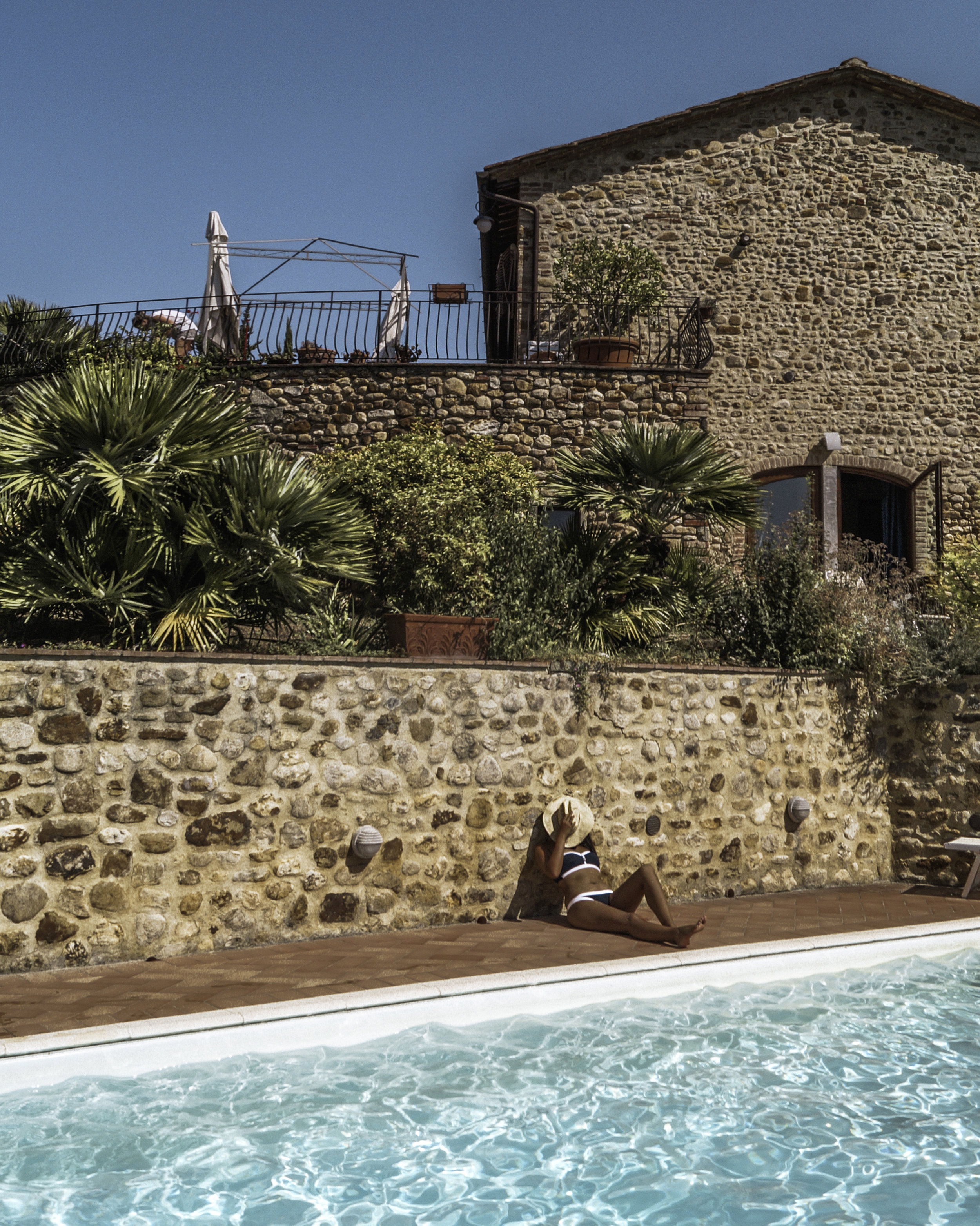San Casciano Pool, Tuscany, Italy - illumelation x Cocobay Swimwear.jpg