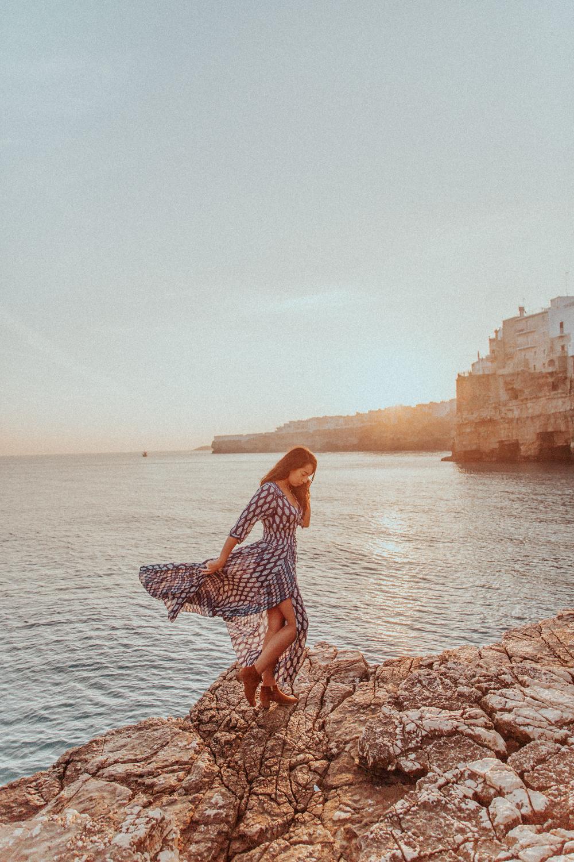 Melissa Legarda - Polignano a Mare, Apulia,意大利