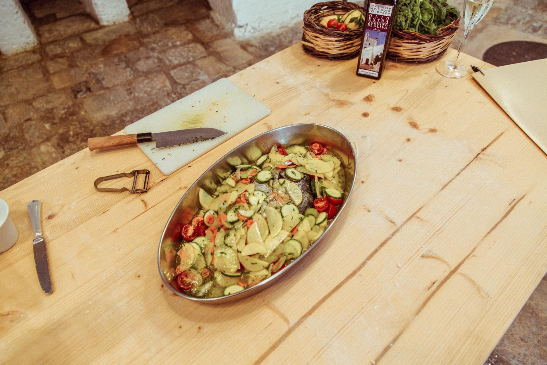 意大利普利亚的Masseria Torre Coccaro餐厅的美食和食物(17个中的10个)