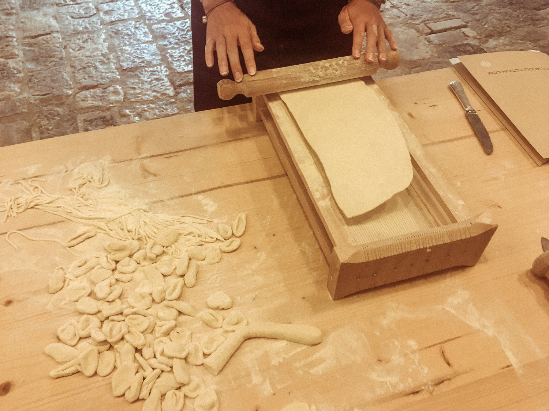 Traditional Chitarra pasta maker