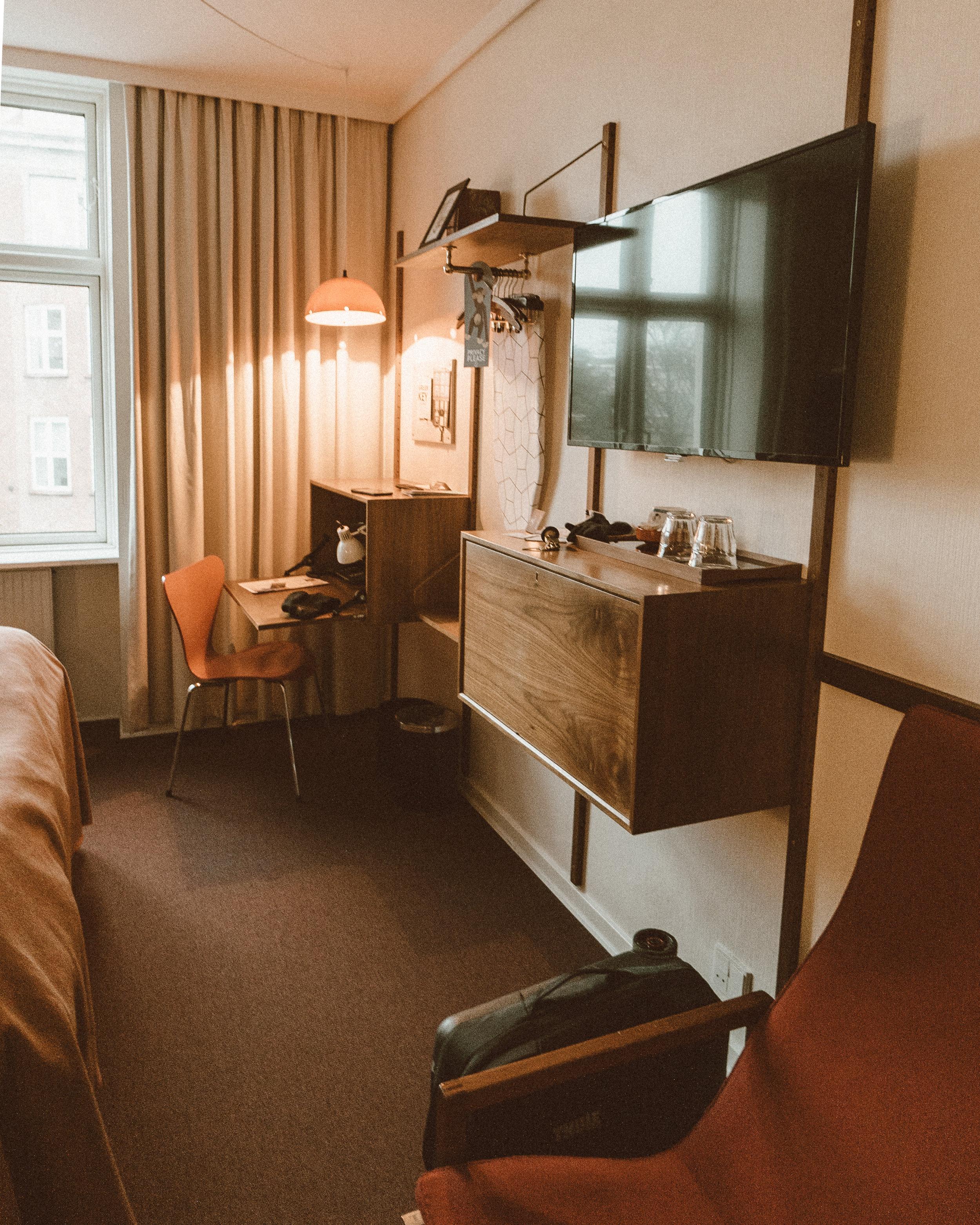 Hotel Alexandra Copenhagen Review - Standard Double Room