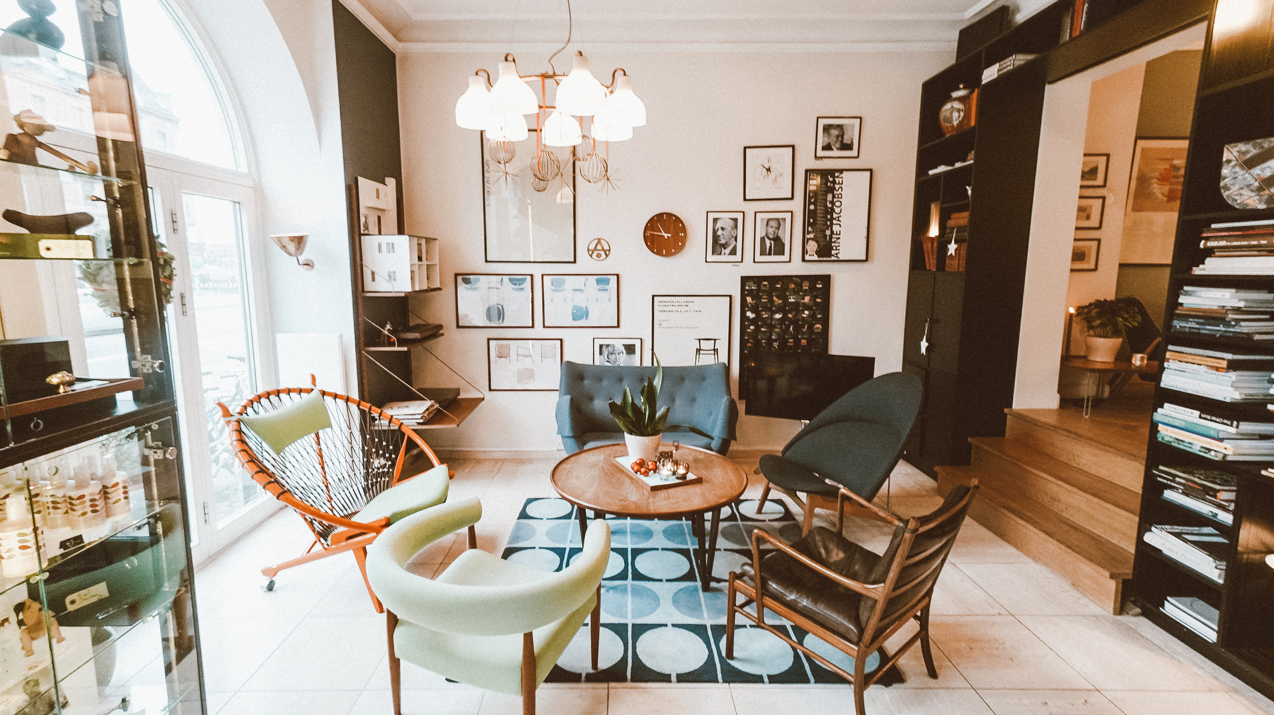 Hotel Alexandra Copenhagen Review - Lobby Reception Area