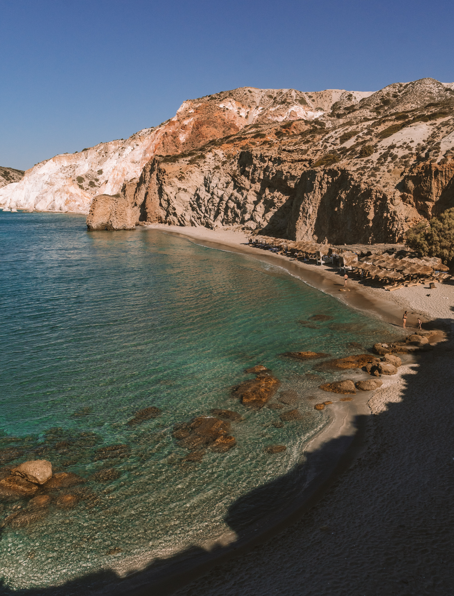 Milos -美丽的海滩