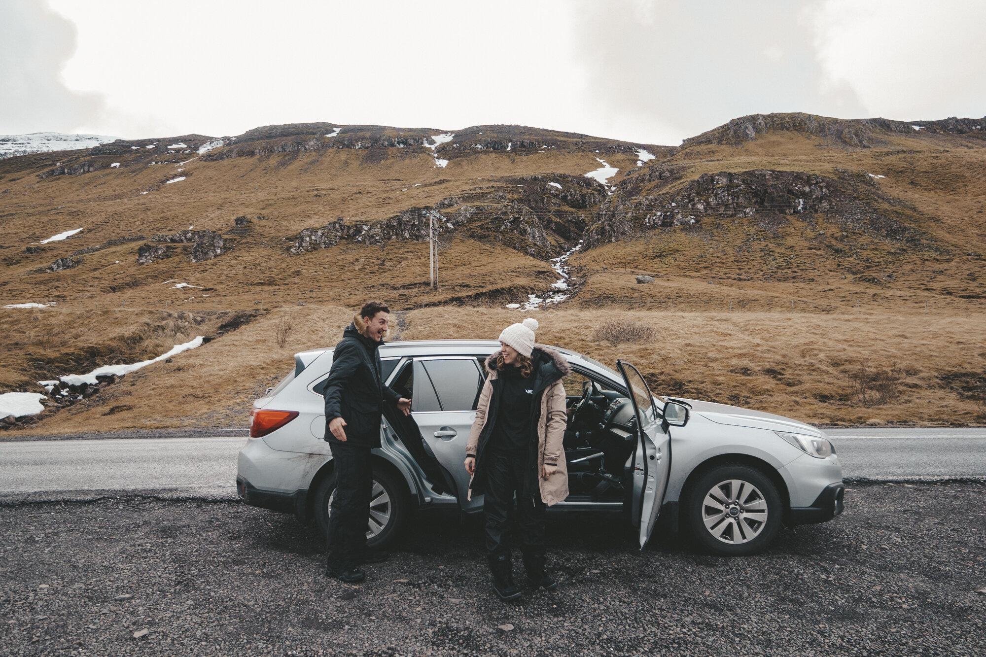 Hestathingsholl - Iceland - Fjord and Field - car .jpg