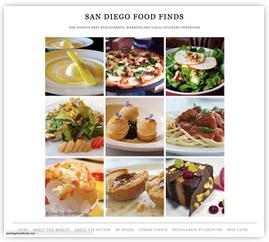 San Diego Food Finds blog