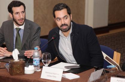 Mahmoud Kaabour addresses the International Labor Organization