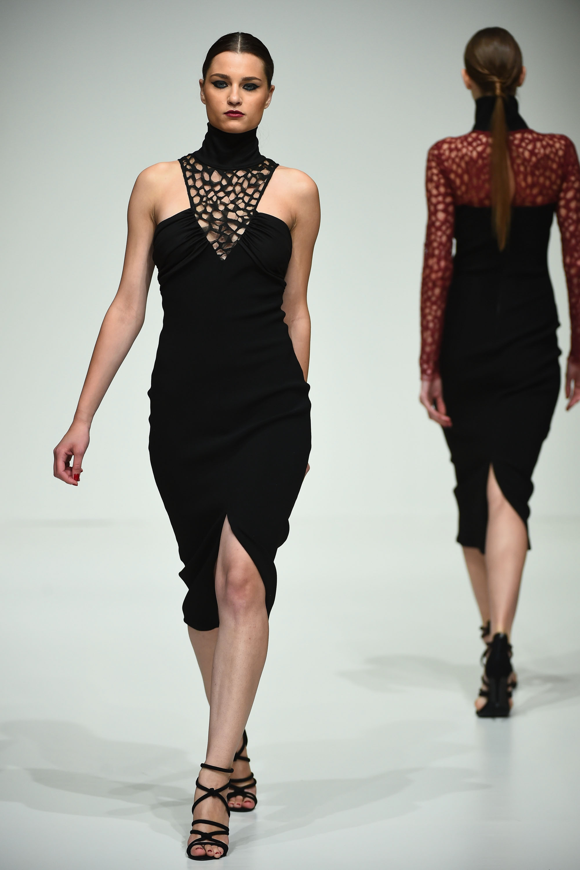 Dima Ayad at Fashion Forward Seasson 5. Dubai, United Arab Emirates.