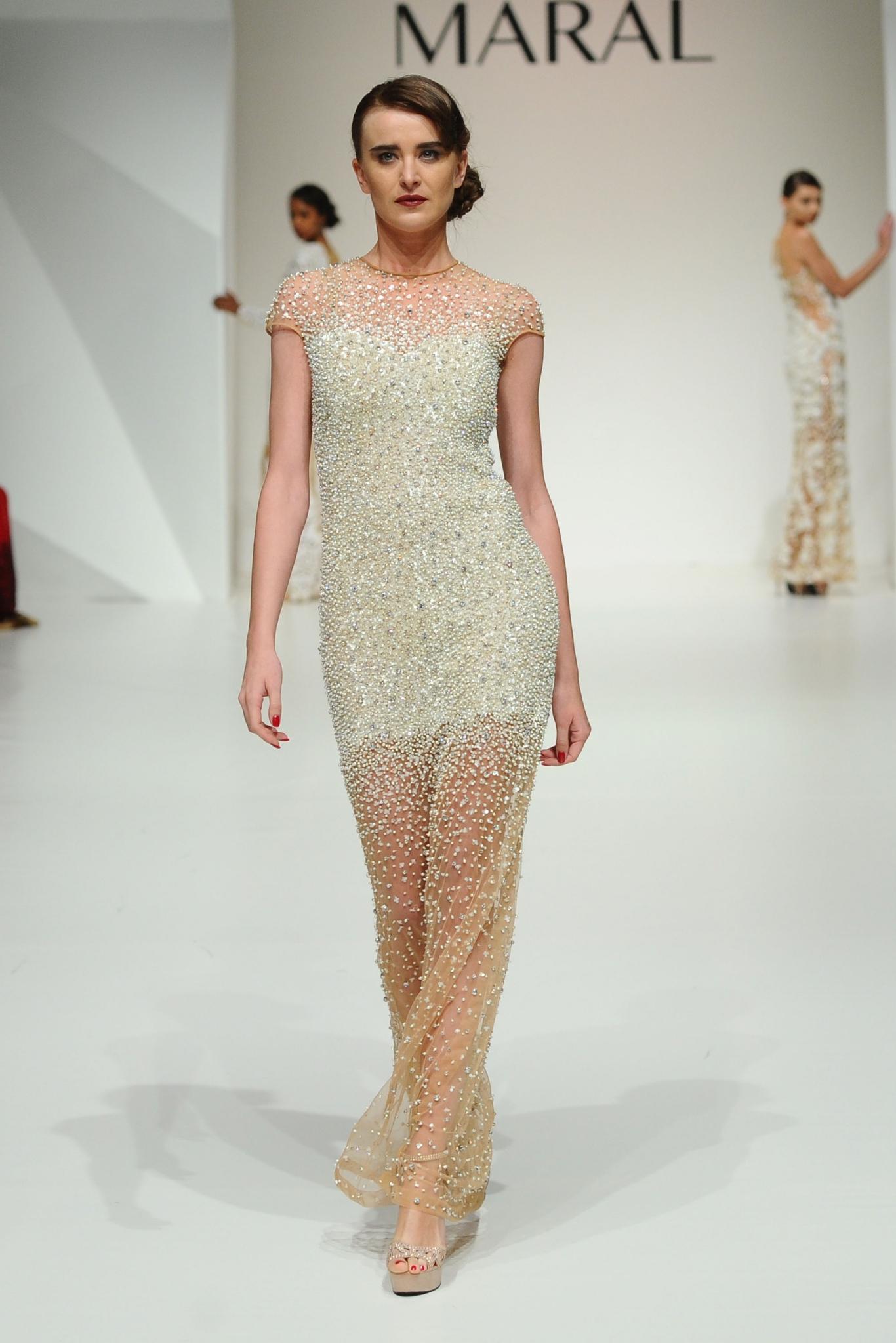Maral at Fashion Forward Season 5. Dubai, United Arab Emirates.