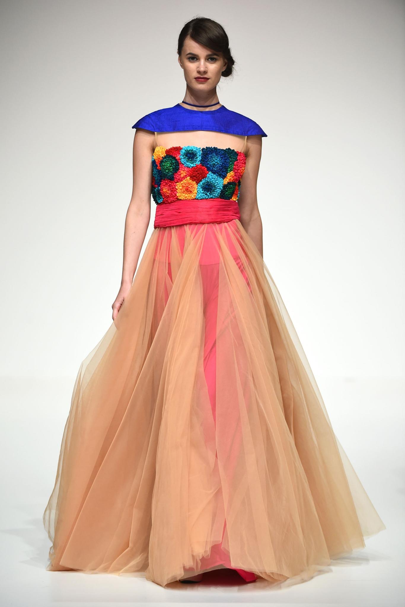 Maral at Fashion Forward Season 5. ubai, United Arab Emirates.