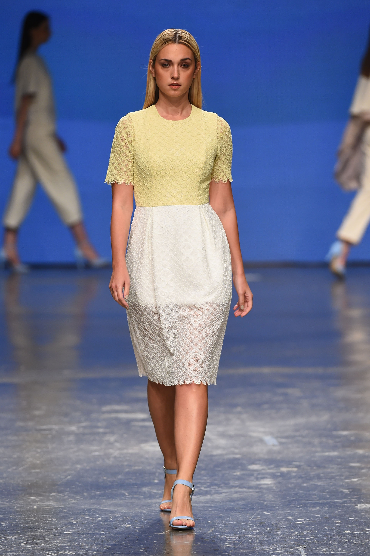 Madiyah Al Sharqi at Fashion Forward Season 5.