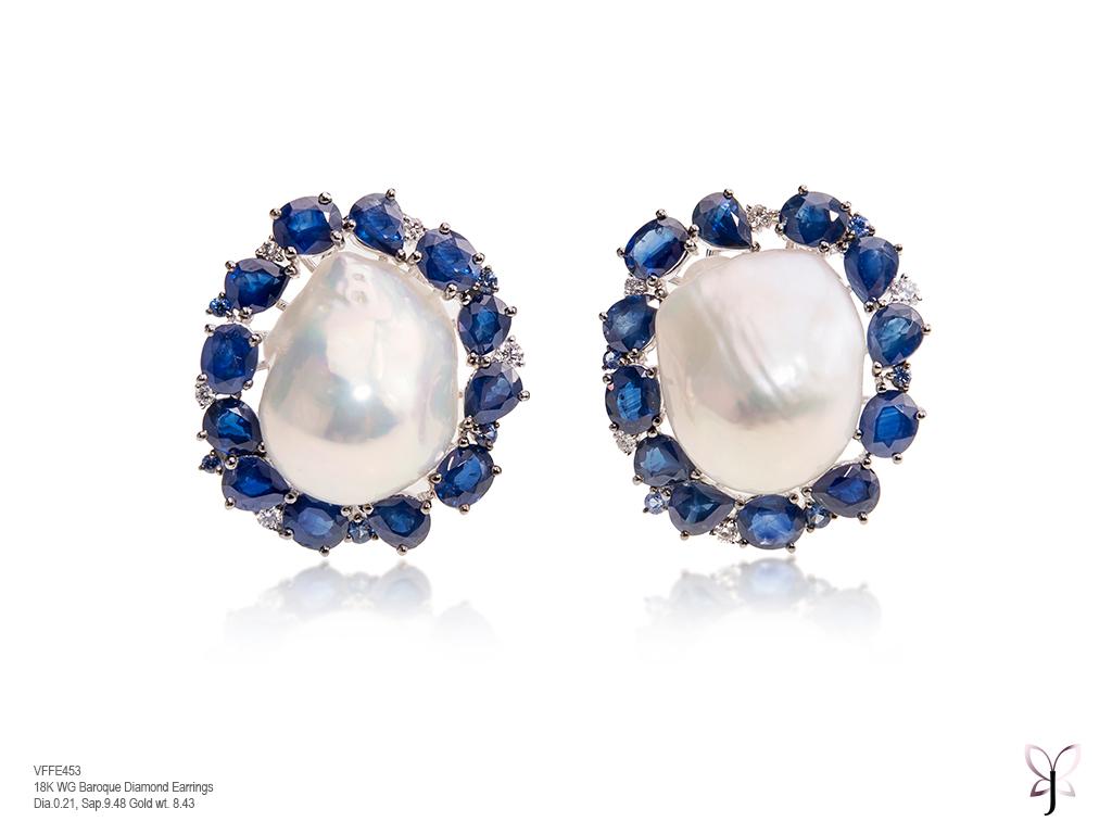 Sapphire and Diamond White Baroque Studs.jpg