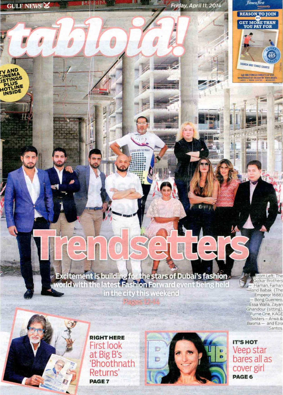 Tabloid - April 2014