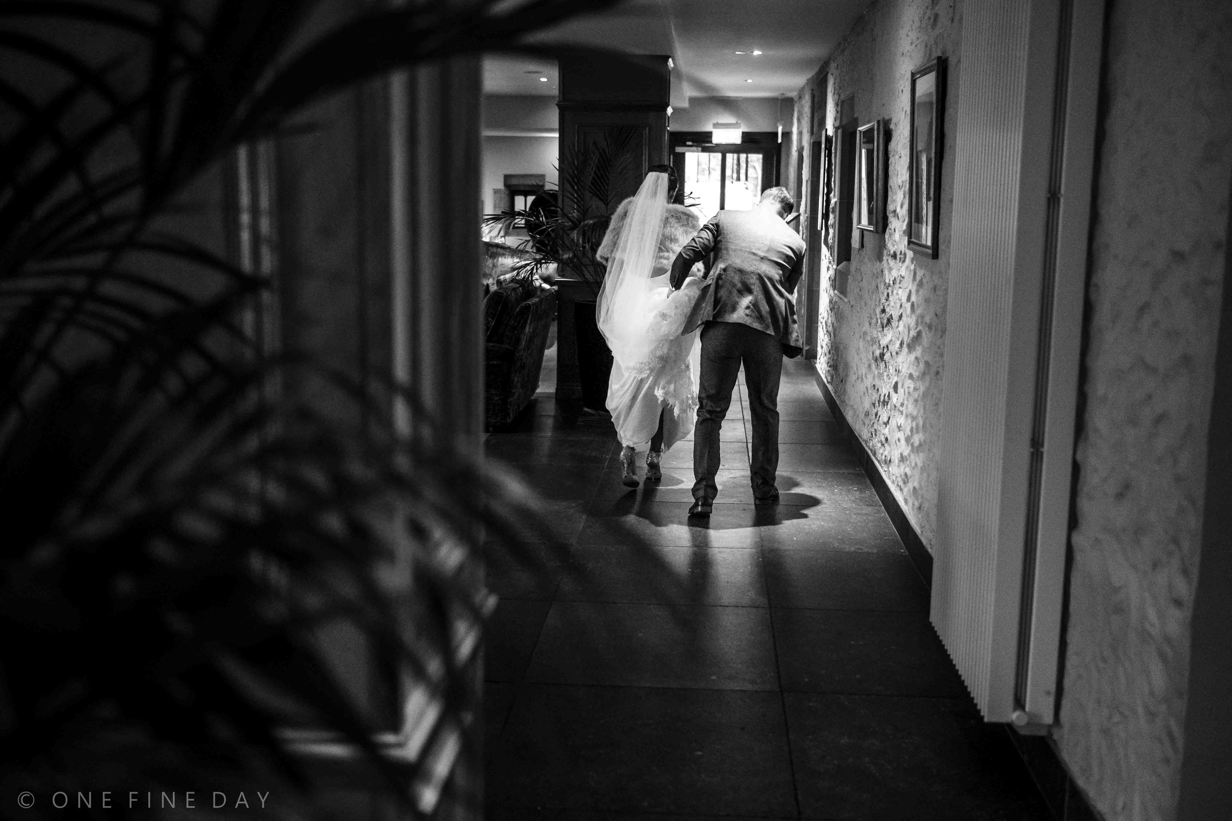 Candid Bride and groom image