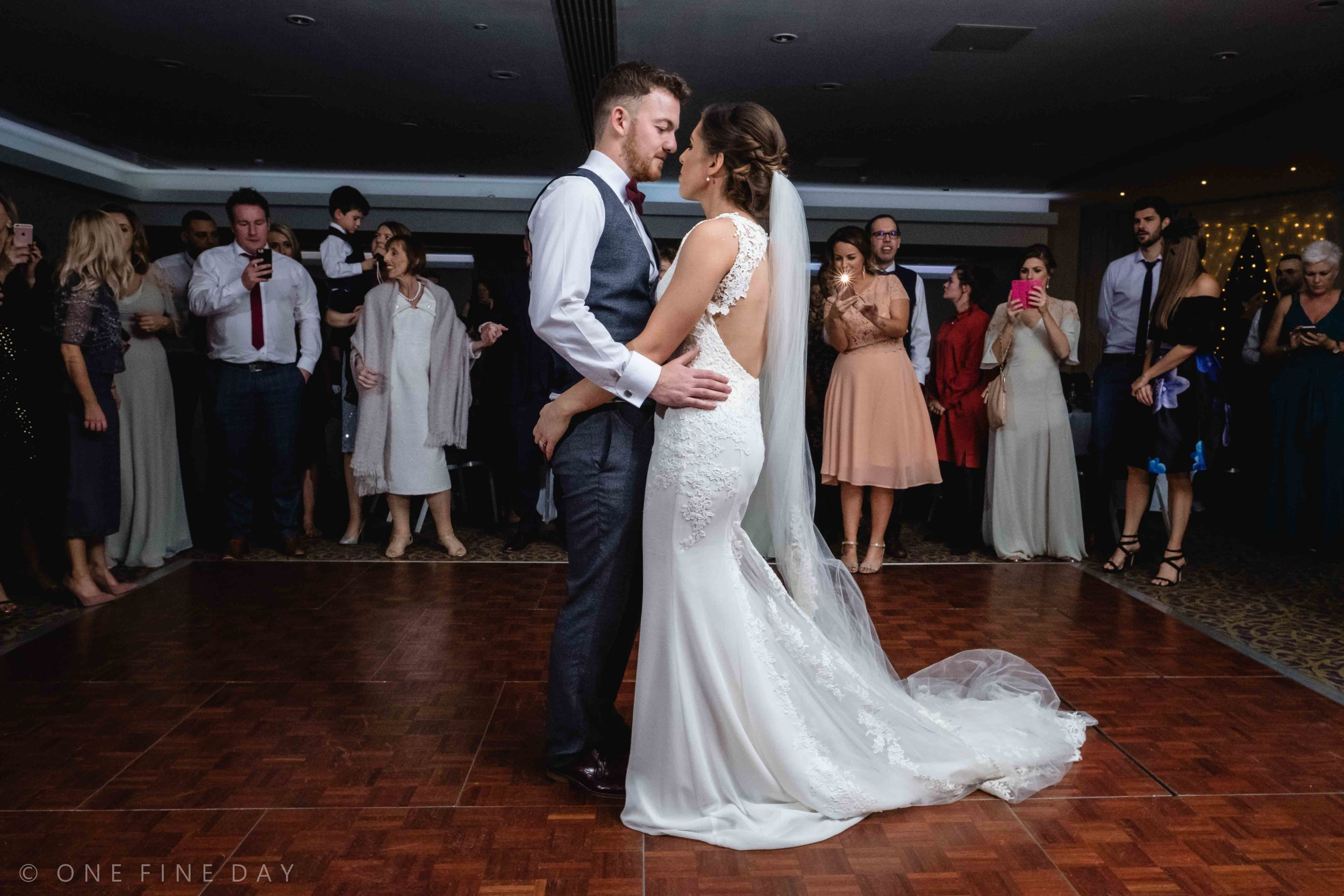 Wedding First dance at Ballygally Castle