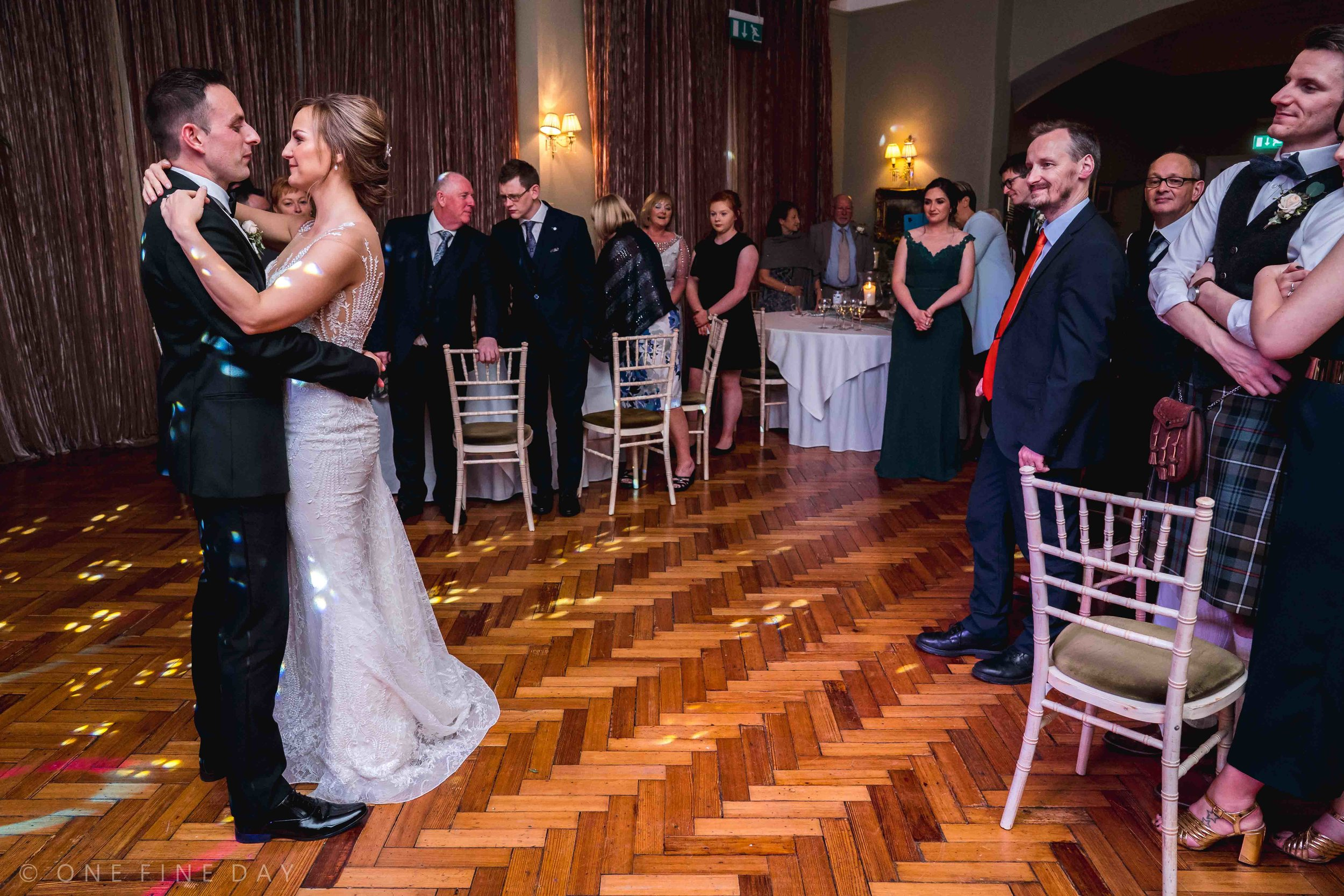 Wedding photography First Dance at Tinakilly House Ireland