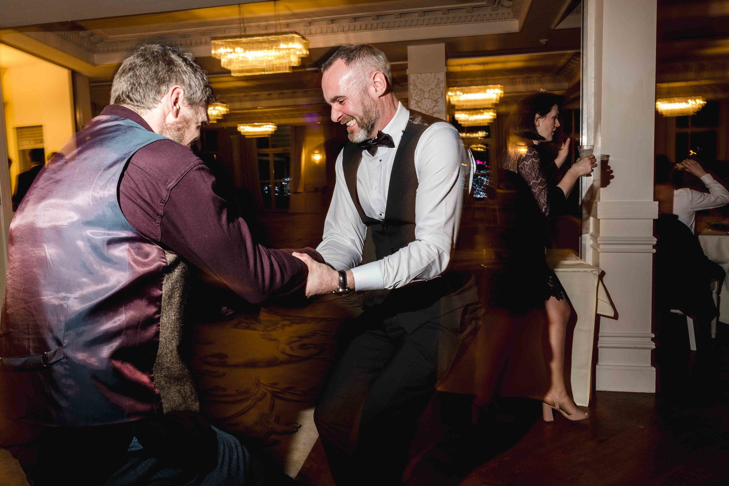 wedding dance floor photograph at Carlingford Four Seasons Ireland