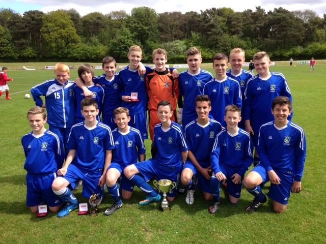 Fife Cup Winners 2014 - 2015