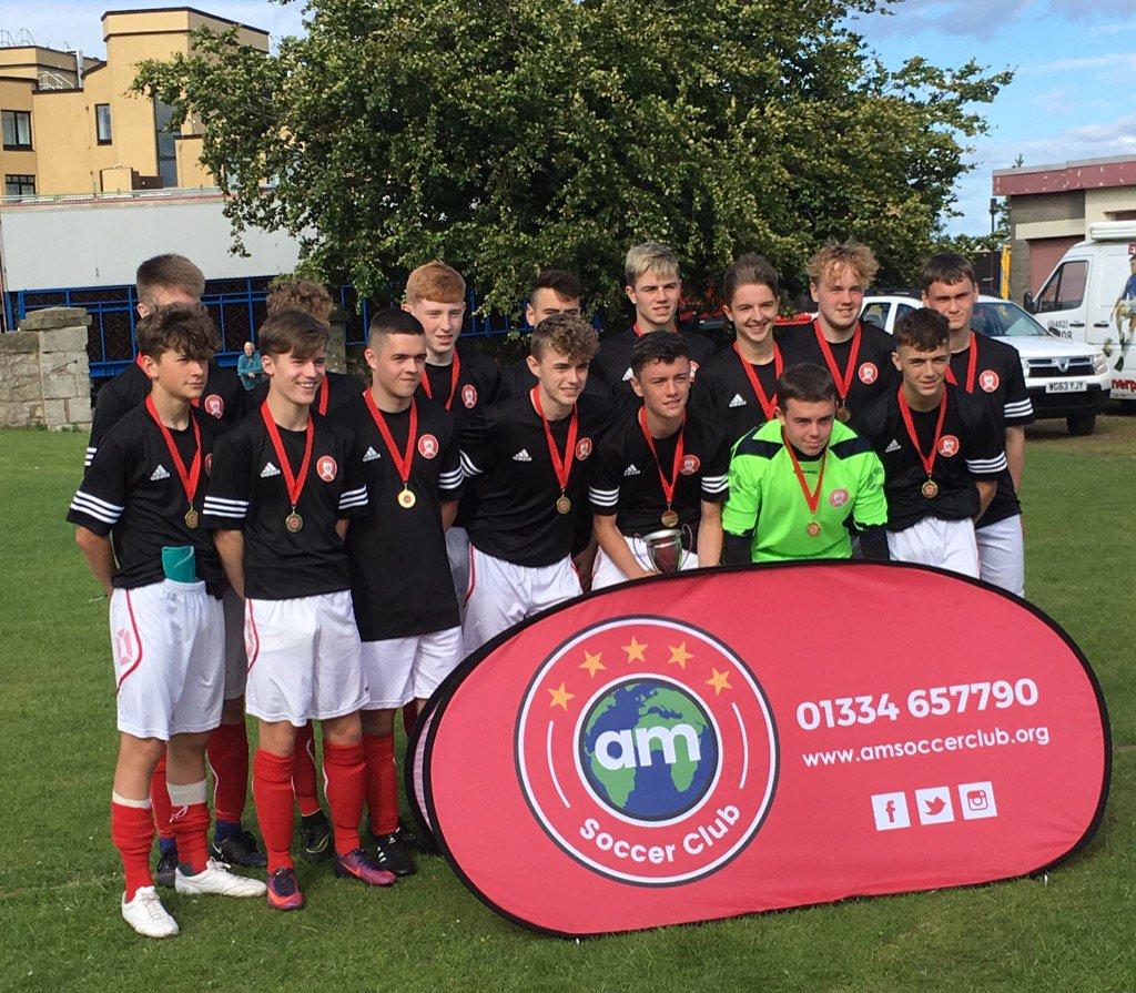 AM Soccer Club Winners 2017 - 2018