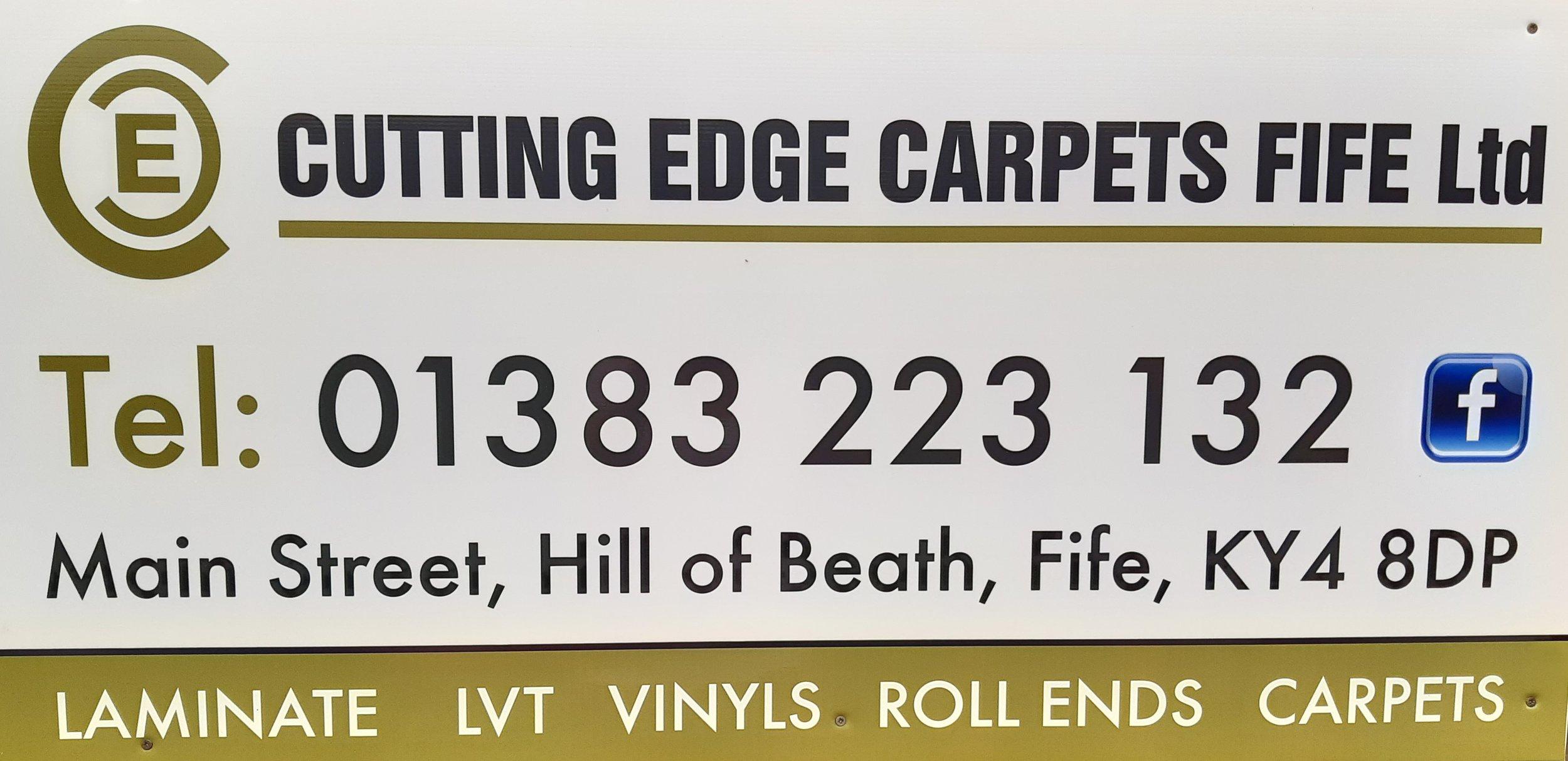 CUTTING EDGE CARPETS FIFE  01383 223 132