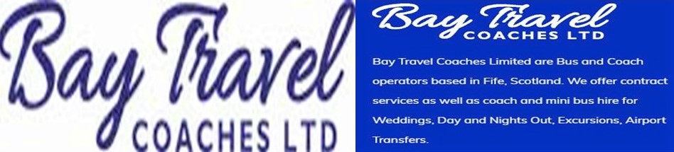 BAY TRAVEL 3 Glenfield Industrial Estate, Cowdenbeath. Tel: 01383 516161