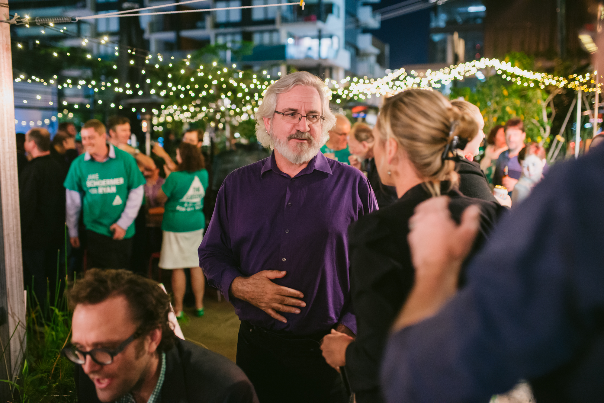 Federal Election night 2019 with the QLD Greens