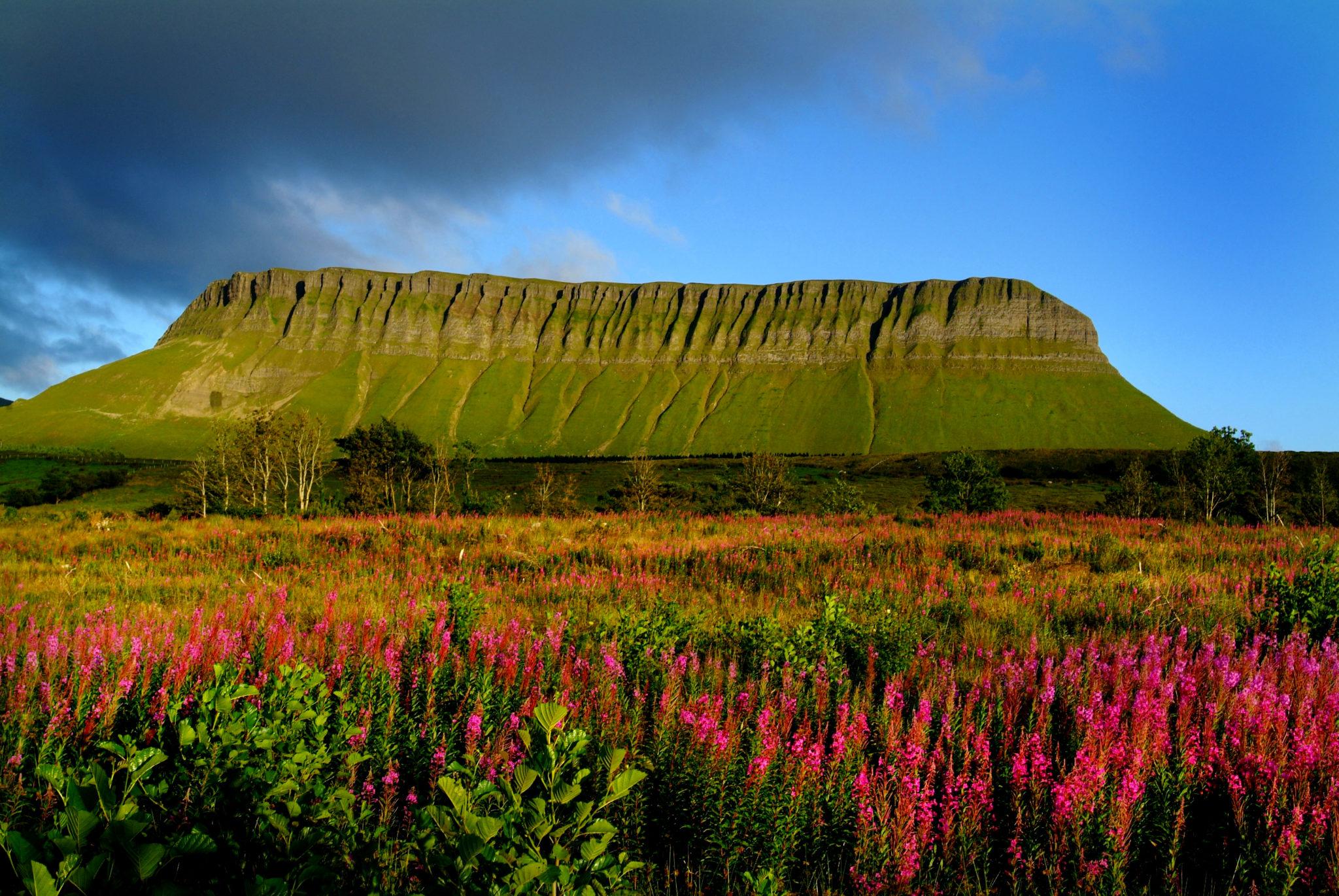 BENBULBEN   Sligo's Table Top Mountain