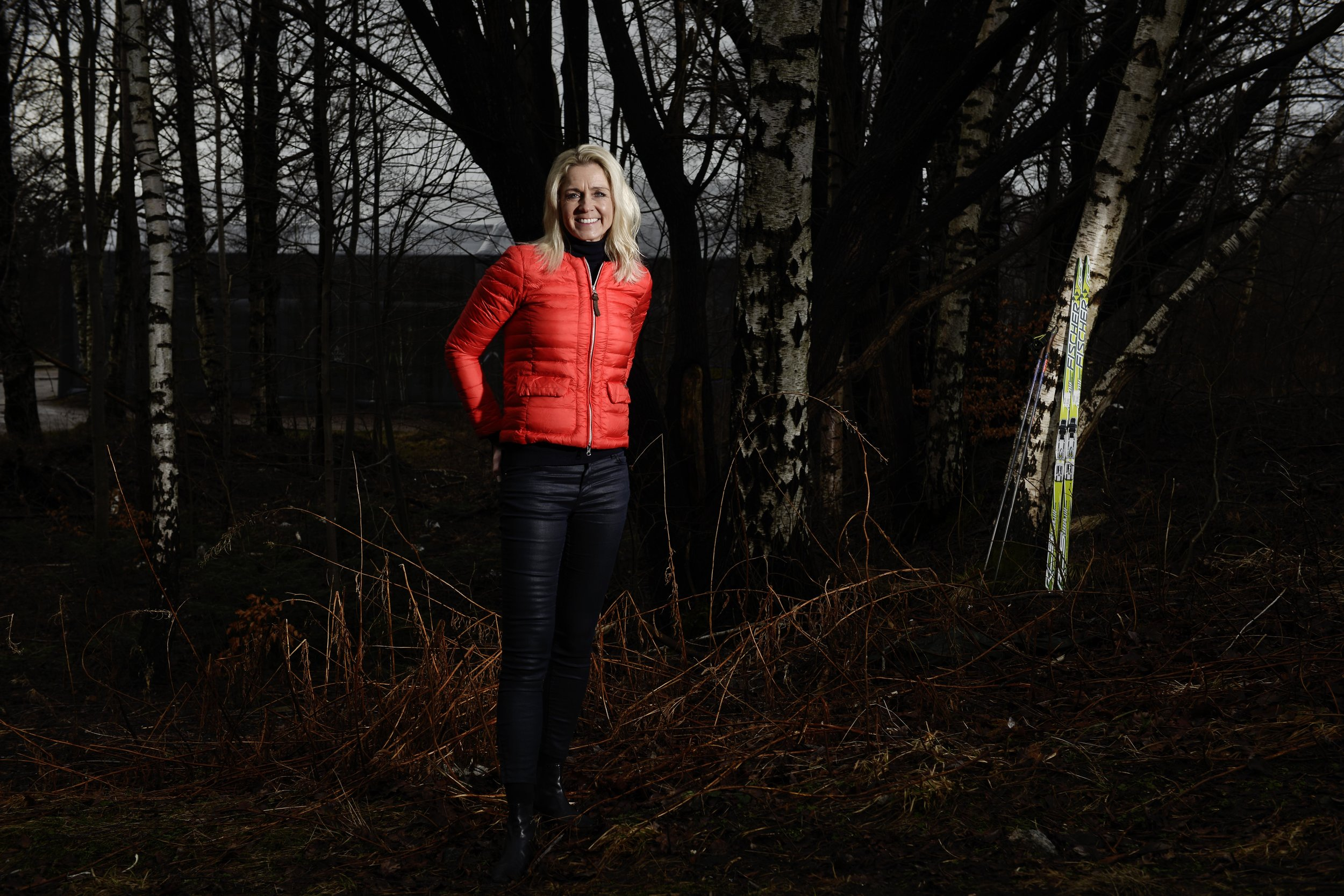 Solveig Pedersen: Reteird cross country skier