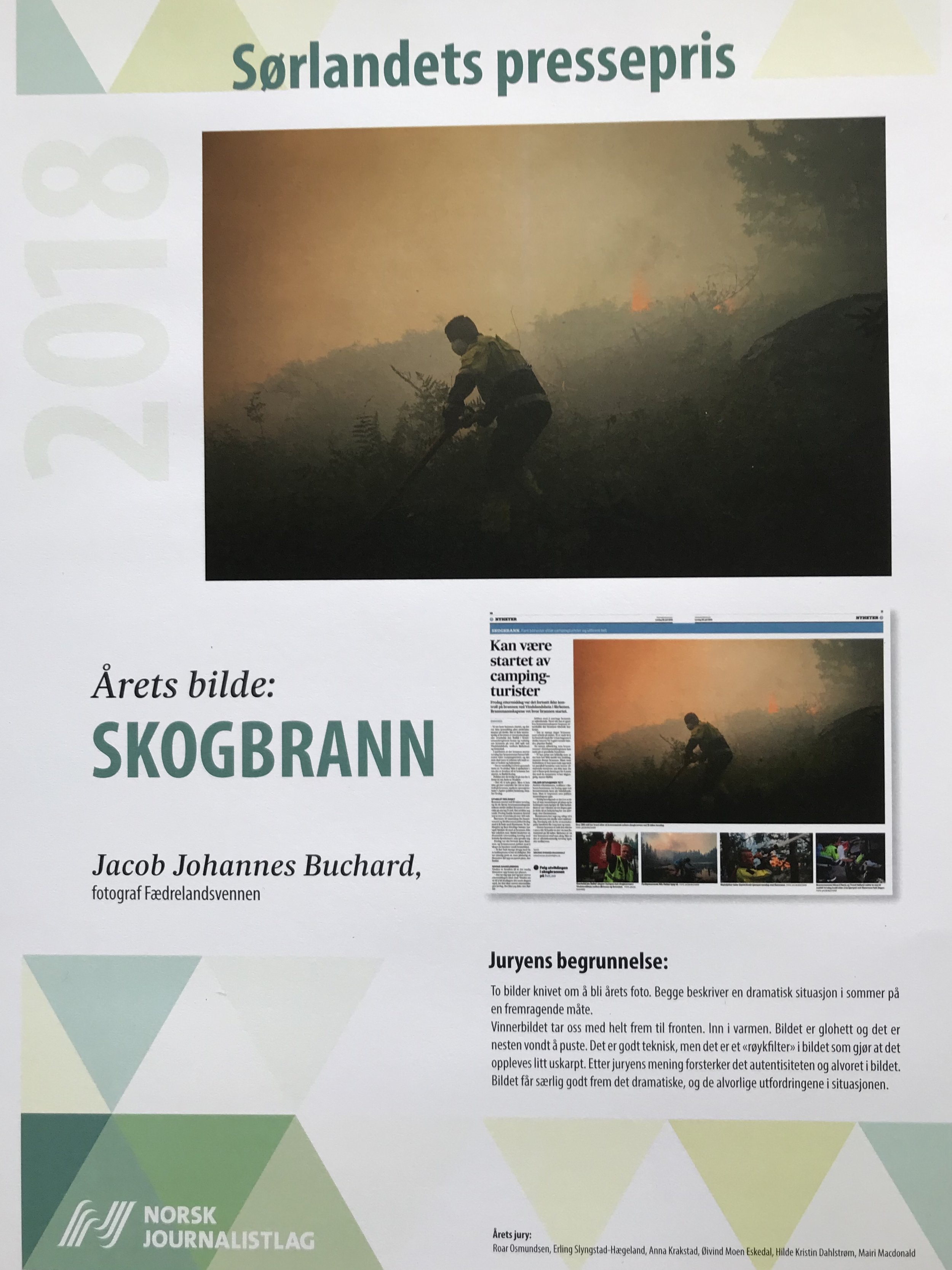 Winner of Sørlandets pressepris: Picture of the year