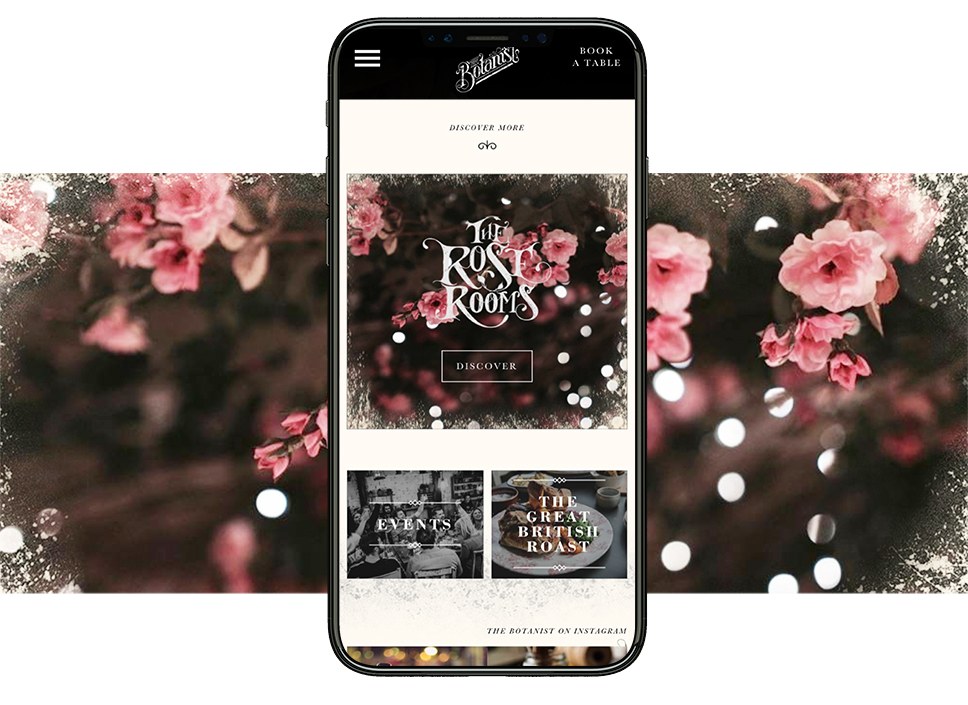 The Rose Rooms Mobile Site