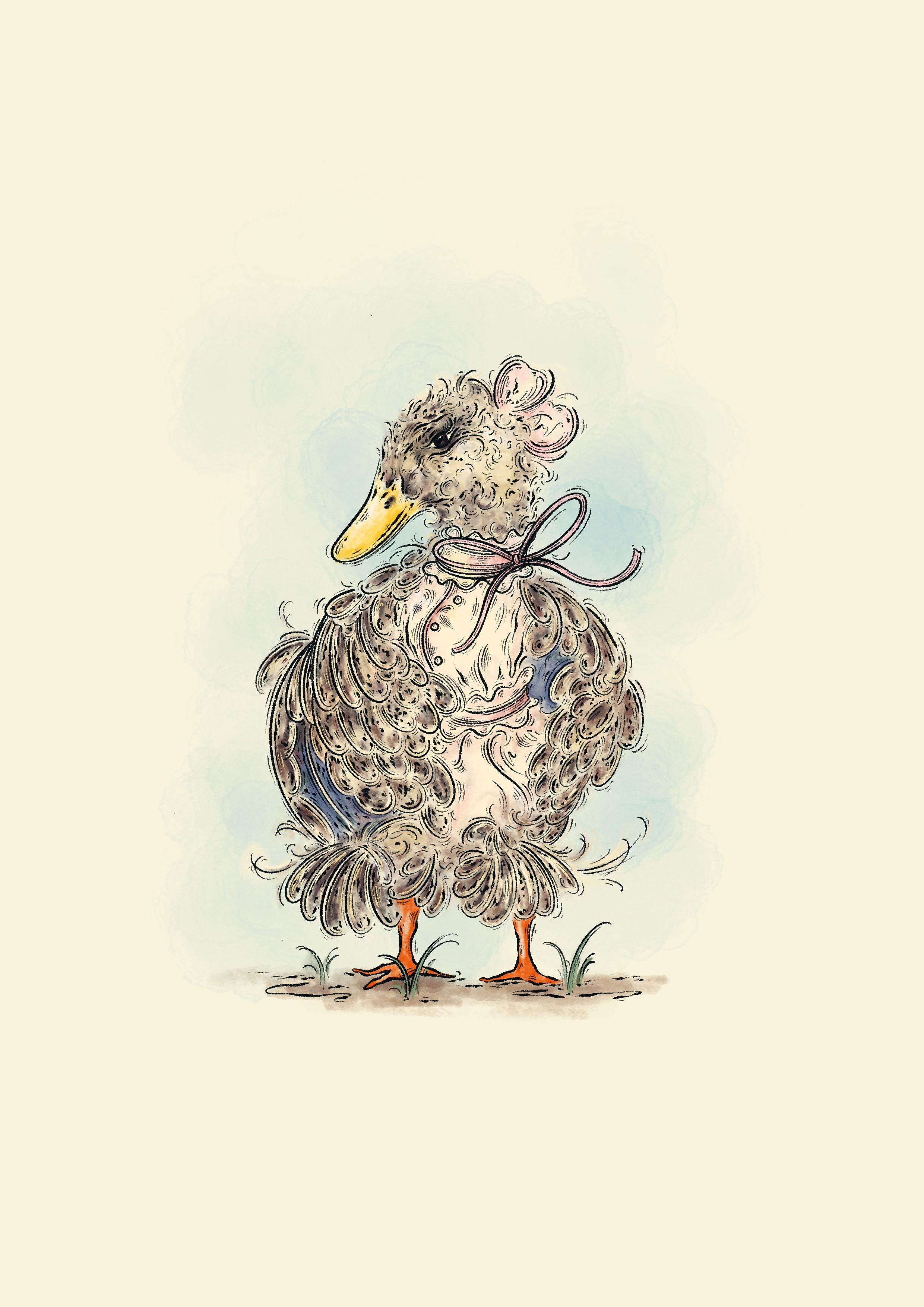 Duck in dress Mahe.jpg