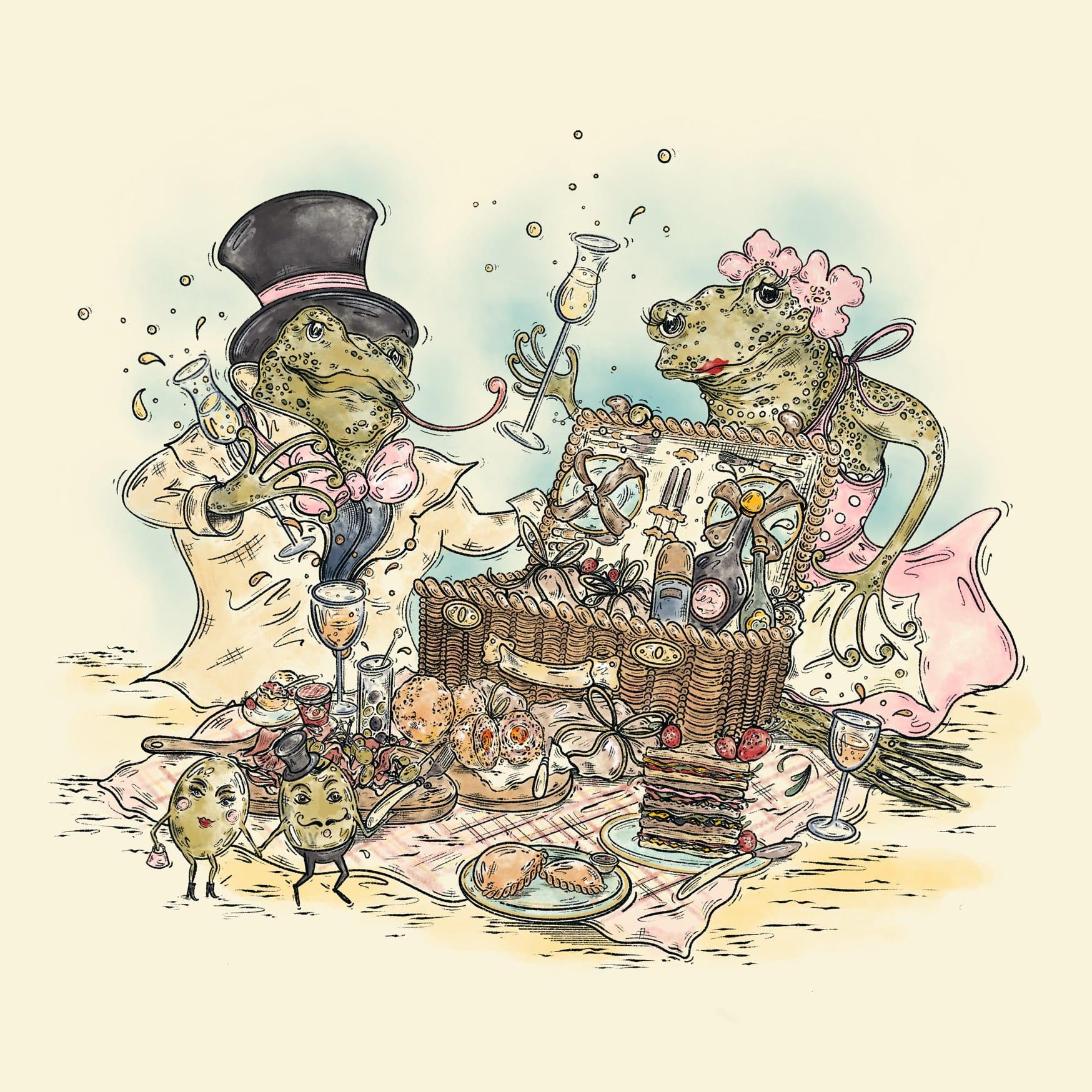 Summer Frog Picnic -