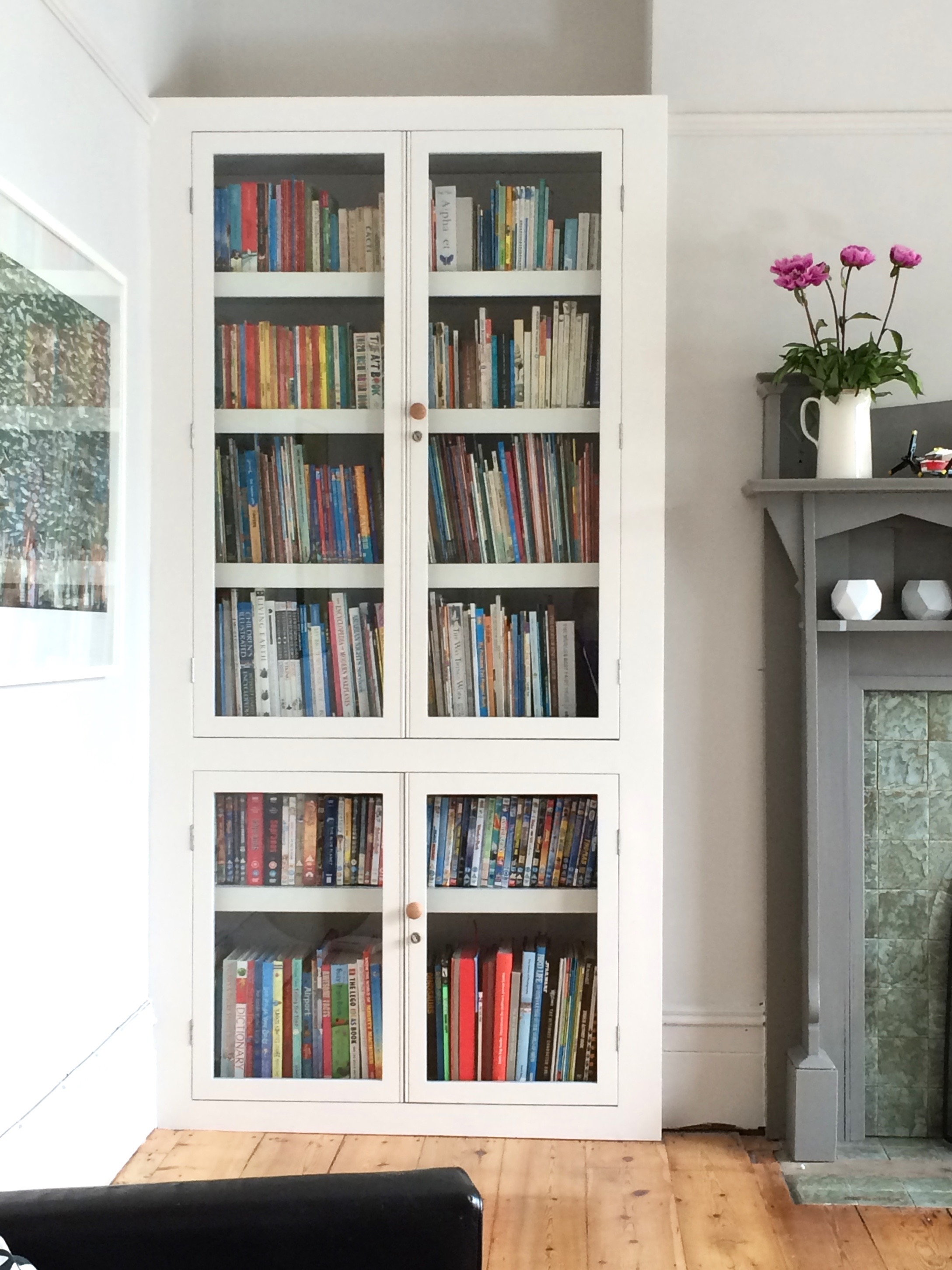 Tall Fitted Alcove Ciupboard
