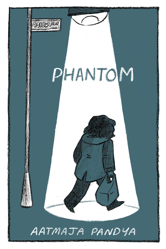 - PHANTOM(2016)A forty page autobiographical comic about growing up in Queens, NY, and returning there as a young adult.