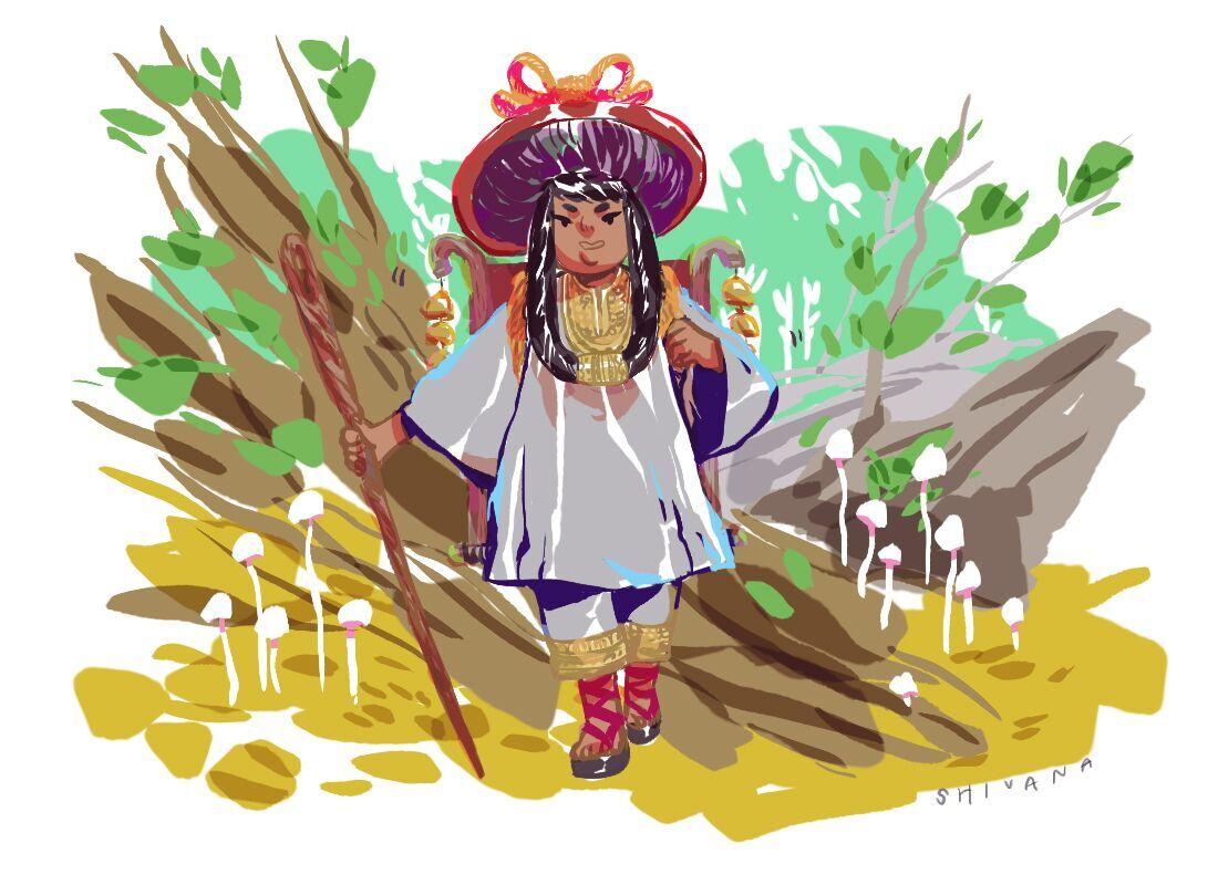 Fairytale Concept Art - Mushroom Witch.jpg